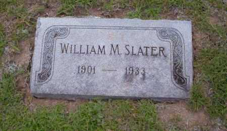 SLATER, WILLIAM M - Union County, Arkansas | WILLIAM M SLATER - Arkansas Gravestone Photos