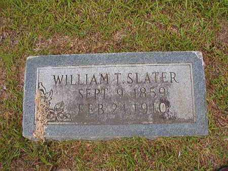 SLATER, WILLIAM T - Union County, Arkansas | WILLIAM T SLATER - Arkansas Gravestone Photos