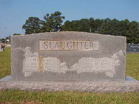 SLAUGHTER, FLOYD E - Union County, Arkansas | FLOYD E SLAUGHTER - Arkansas Gravestone Photos