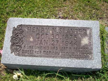 SLAYTER, HENRY N - Union County, Arkansas | HENRY N SLAYTER - Arkansas Gravestone Photos