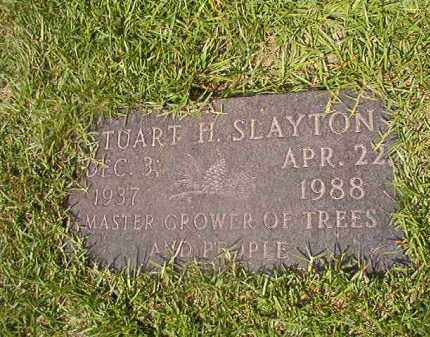 SLAYTON, STUART H - Union County, Arkansas | STUART H SLAYTON - Arkansas Gravestone Photos