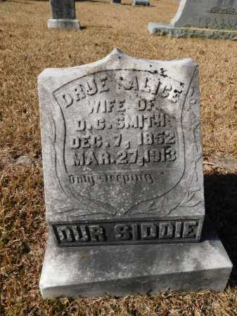 SMITH, DRUE ALICE - Union County, Arkansas | DRUE ALICE SMITH - Arkansas Gravestone Photos