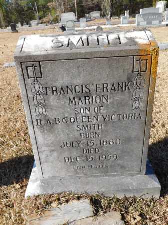"SMITH, FRANCIS ""FRANK"" MARION - Union County, Arkansas | FRANCIS ""FRANK"" MARION SMITH - Arkansas Gravestone Photos"