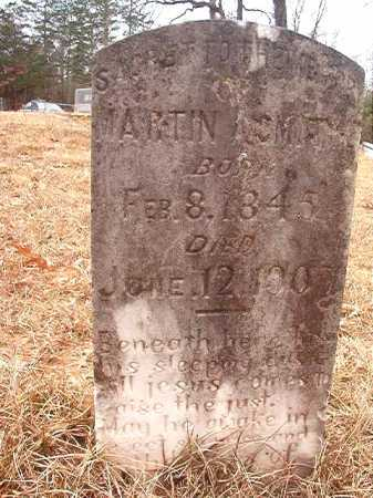 SMITH, MARTIN A - Union County, Arkansas | MARTIN A SMITH - Arkansas Gravestone Photos