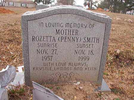 SMITH, ROZETTA - Union County, Arkansas | ROZETTA SMITH - Arkansas Gravestone Photos
