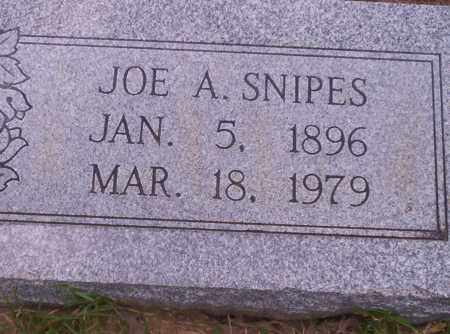 SNIPES, JOE A - Union County, Arkansas | JOE A SNIPES - Arkansas Gravestone Photos