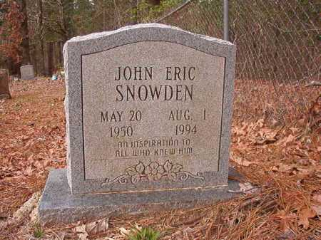 SNOWDEN, JOHN ERIC - Union County, Arkansas | JOHN ERIC SNOWDEN - Arkansas Gravestone Photos