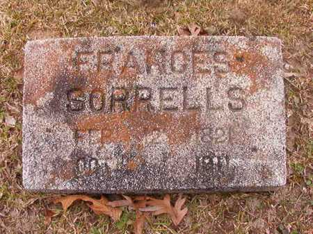 SORRELLS, FRANCES - Union County, Arkansas | FRANCES SORRELLS - Arkansas Gravestone Photos