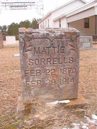 SORRELLS, MATTIE - Union County, Arkansas | MATTIE SORRELLS - Arkansas Gravestone Photos