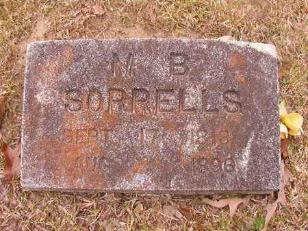 SORRELLS, M B - Union County, Arkansas | M B SORRELLS - Arkansas Gravestone Photos
