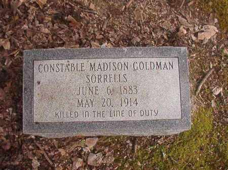 SORRELLS, MADISON GOLDMAN - Union County, Arkansas | MADISON GOLDMAN SORRELLS - Arkansas Gravestone Photos