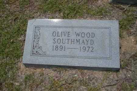 WOOD SOUTHMAYD, OLIVE - Union County, Arkansas | OLIVE WOOD SOUTHMAYD - Arkansas Gravestone Photos