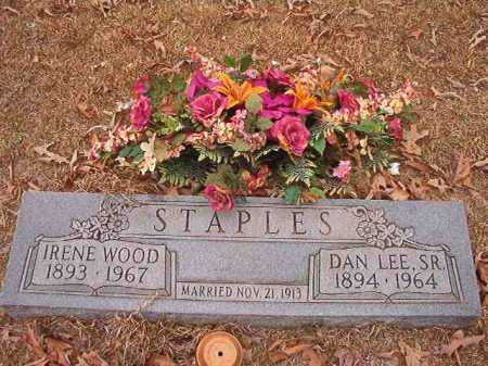 WOOD STAPLES, IRENE - Union County, Arkansas | IRENE WOOD STAPLES - Arkansas Gravestone Photos