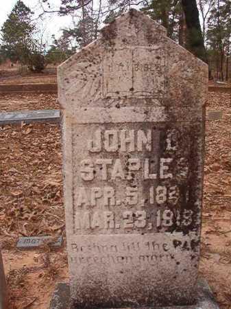 STAPLES, JOHN D - Union County, Arkansas   JOHN D STAPLES - Arkansas Gravestone Photos