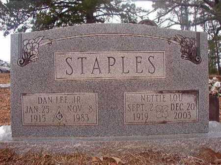 STAPLES, JR, DAN LEE - Union County, Arkansas | DAN LEE STAPLES, JR - Arkansas Gravestone Photos