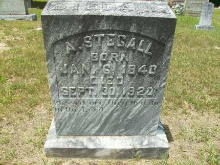 STEGALL, A - Union County, Arkansas | A STEGALL - Arkansas Gravestone Photos