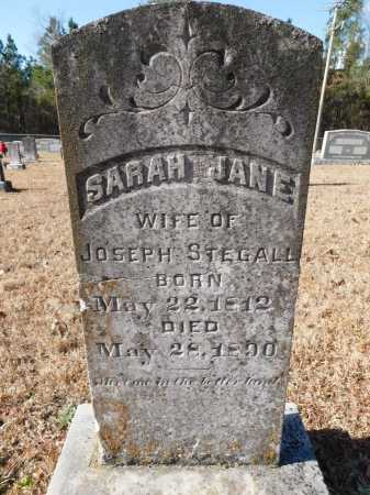 STEGALL, SARAH JANE - Union County, Arkansas | SARAH JANE STEGALL - Arkansas Gravestone Photos