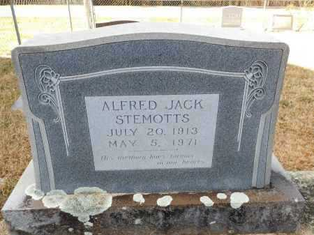 STEMOTTS, ALFRED JACK - Union County, Arkansas | ALFRED JACK STEMOTTS - Arkansas Gravestone Photos