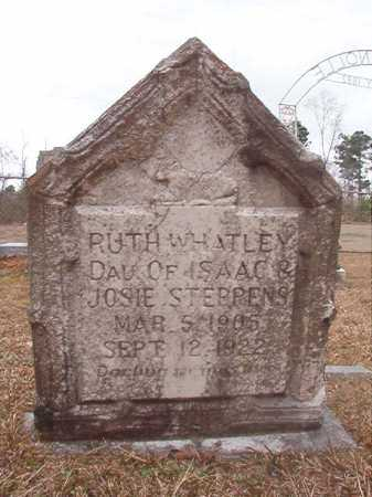 STEPHENS, RUTH WHATLEY - Union County, Arkansas | RUTH WHATLEY STEPHENS - Arkansas Gravestone Photos