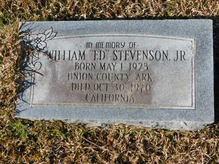 "STEVENSON, JR, WILLIAM ""ED"" - Union County, Arkansas 