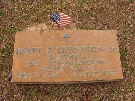 STEVENSON, SR (VETERAN WWII), HARRY F - Union County, Arkansas | HARRY F STEVENSON, SR (VETERAN WWII) - Arkansas Gravestone Photos