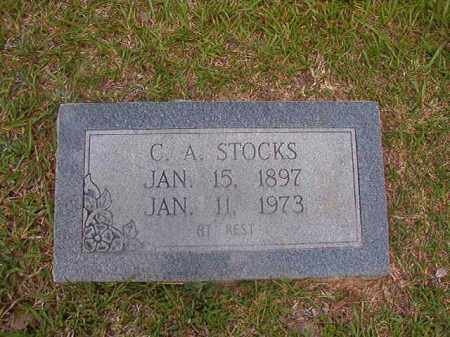 STOCKS, C A - Union County, Arkansas | C A STOCKS - Arkansas Gravestone Photos
