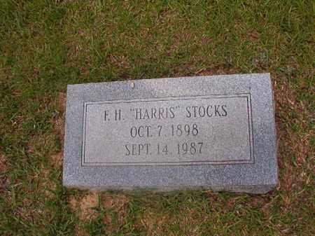 "STOCKS, F H ""HARRIS"" - Union County, Arkansas 
