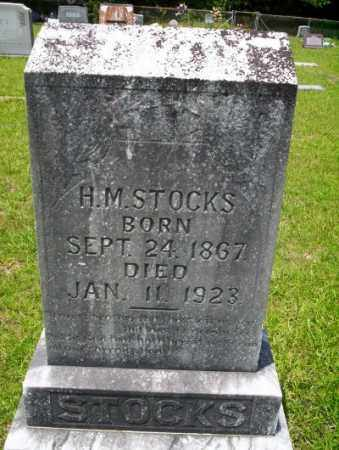 STOCKS, H.M. - Union County, Arkansas | H.M. STOCKS - Arkansas Gravestone Photos