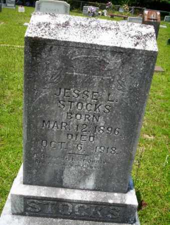 STOCKS, JESSE L - Union County, Arkansas | JESSE L STOCKS - Arkansas Gravestone Photos