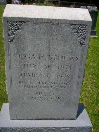 STOCKS, OLGA H - Union County, Arkansas | OLGA H STOCKS - Arkansas Gravestone Photos