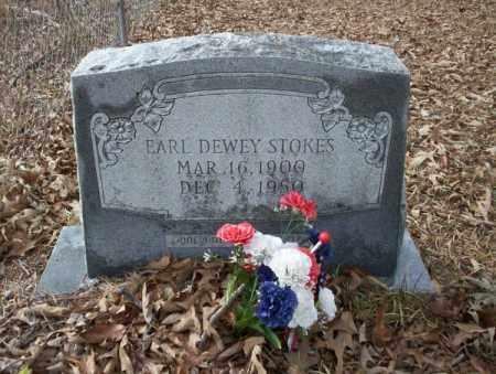 STOKES, EARL DEWEY - Union County, Arkansas | EARL DEWEY STOKES - Arkansas Gravestone Photos