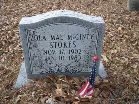 STOKES, ZOLA MAE - Union County, Arkansas | ZOLA MAE STOKES - Arkansas Gravestone Photos