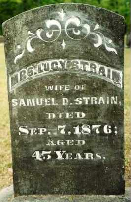 STRAIN, LUCY - Union County, Arkansas | LUCY STRAIN - Arkansas Gravestone Photos
