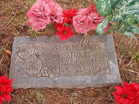 STUART, NAZRINE - Union County, Arkansas | NAZRINE STUART - Arkansas Gravestone Photos