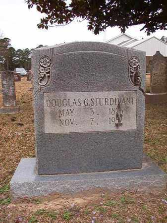 STURDIVANT, DOUGLAS G - Union County, Arkansas | DOUGLAS G STURDIVANT - Arkansas Gravestone Photos