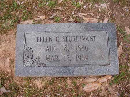 STURDIVANT, ELLEN C - Union County, Arkansas | ELLEN C STURDIVANT - Arkansas Gravestone Photos