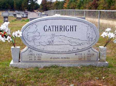 GATHRIGHT, MITTIE V - Union County, Arkansas | MITTIE V GATHRIGHT - Arkansas Gravestone Photos