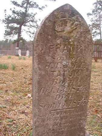 TATUM, FRANK - Union County, Arkansas   FRANK TATUM - Arkansas Gravestone Photos