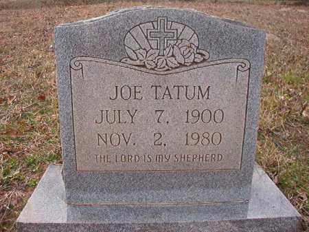 TATUM, JOE - Union County, Arkansas | JOE TATUM - Arkansas Gravestone Photos
