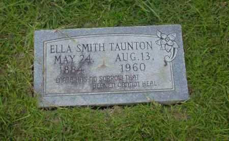 SMITH TAUNTON, ELLA - Union County, Arkansas | ELLA SMITH TAUNTON - Arkansas Gravestone Photos