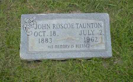 TAUNTON, JOHN ROSCOE - Union County, Arkansas | JOHN ROSCOE TAUNTON - Arkansas Gravestone Photos