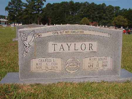 ATKINS TAYLOR, MARY - Union County, Arkansas | MARY ATKINS TAYLOR - Arkansas Gravestone Photos