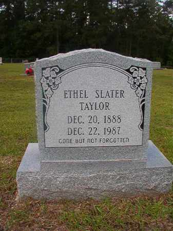 SLATER TAYLOR, ETHEL - Union County, Arkansas | ETHEL SLATER TAYLOR - Arkansas Gravestone Photos
