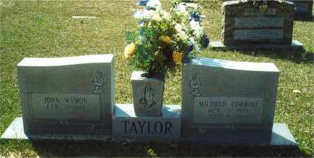 TAYLOR, JOHN WYMON - Union County, Arkansas | JOHN WYMON TAYLOR - Arkansas Gravestone Photos