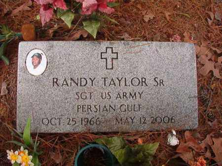 TAYLOR, SR (VETERAN PGW), RANDY - Union County, Arkansas | RANDY TAYLOR, SR (VETERAN PGW) - Arkansas Gravestone Photos