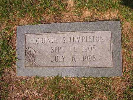 TEMPLETON, FLORENCE S - Union County, Arkansas | FLORENCE S TEMPLETON - Arkansas Gravestone Photos