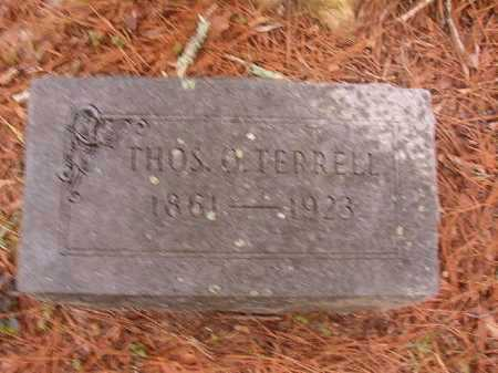 TERRELL, THOMAS O - Union County, Arkansas | THOMAS O TERRELL - Arkansas Gravestone Photos