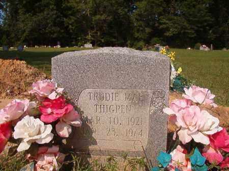 THIGPEN, TRUDIE MAE - Union County, Arkansas | TRUDIE MAE THIGPEN - Arkansas Gravestone Photos
