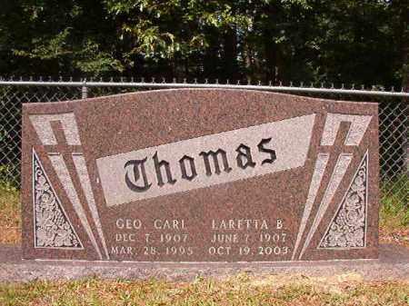 THOMAS, GEO. CARL - Union County, Arkansas | GEO. CARL THOMAS - Arkansas Gravestone Photos