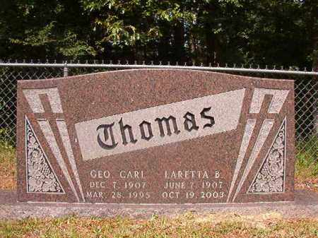 THOMAS, LARETTA B - Union County, Arkansas | LARETTA B THOMAS - Arkansas Gravestone Photos